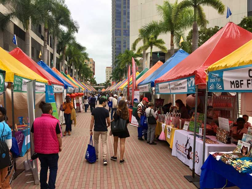 South Florida Events and Festivals - Miami Book Fair by Miami Dade College