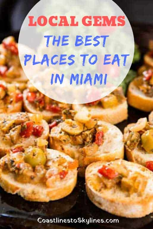 Best Places to Eat in Miami - If you love multicultural food, then you'll love Miami's restaurant scene. For a selection of great local fare, here are some of the best places to eat in Miami including Latin American, Cuban, and Caribbean food.