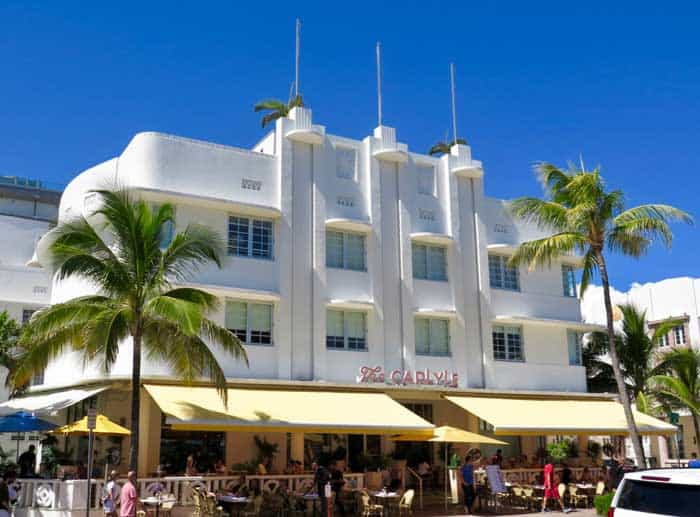 Miami Beach Art Deco District - Caryle Hotel