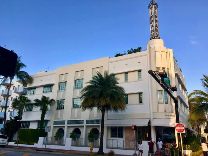 Miami Beach Art Deco District - The Hotel of South Beach