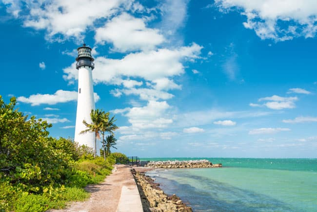 Cape Florida Lighthouse, Key Biscayne, Miami Florida