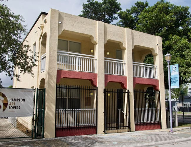 Ward Rooming House Overtown, Miami, Florida
