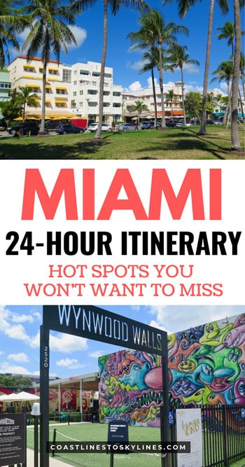 24 Hours in Miami, Florida Itinerary