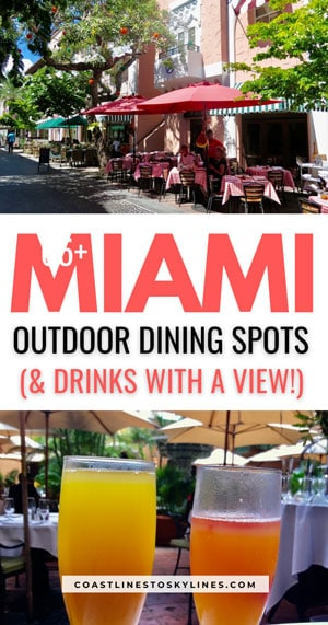 Miami Outdoor Dining