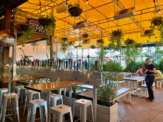 The Butcher Shop Beer Garden & Grill in Wynwood, Miami, Florida