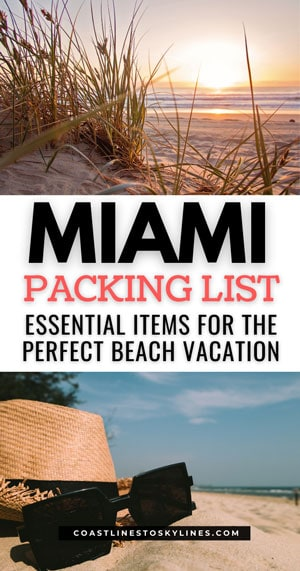 Miami Packing List Essentials